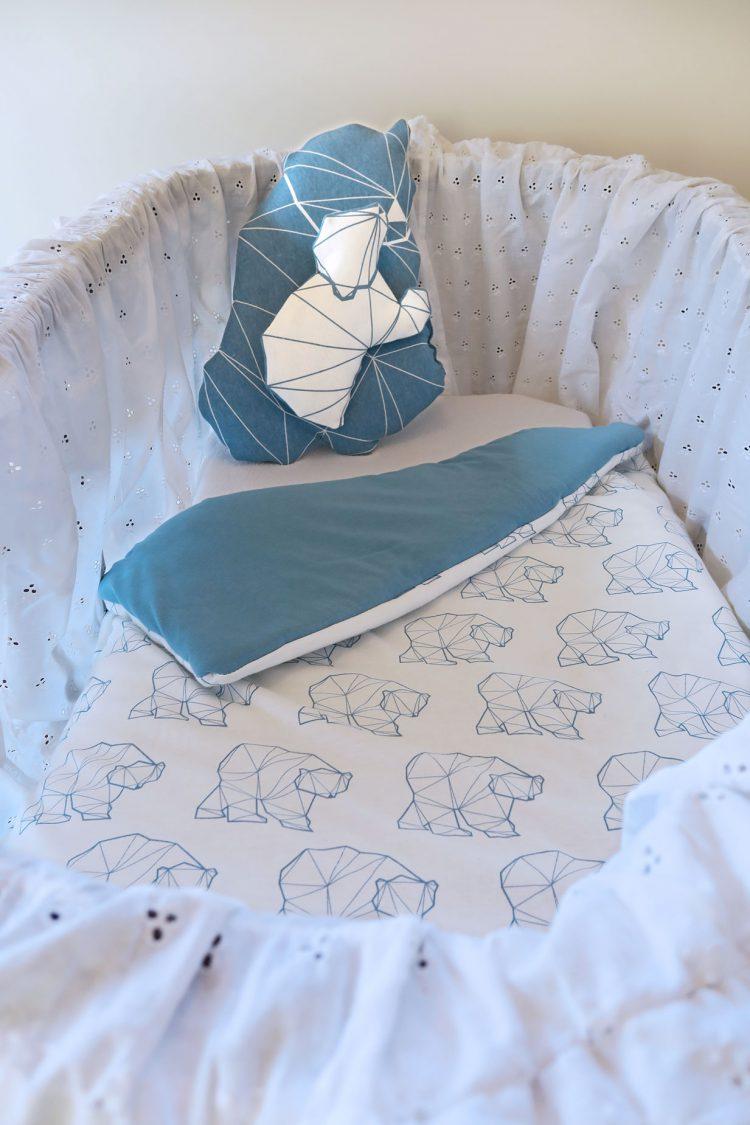 padded organic blanket