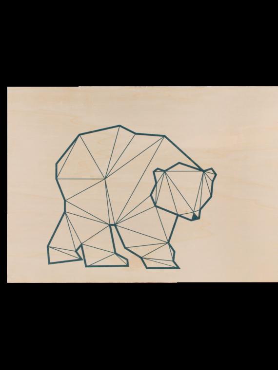 Hymy_baby_woodenprint_babybear